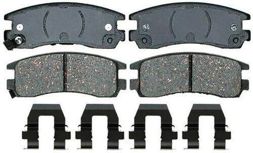 Disc Brake Pad Set-Ceramic Disc Brake Pad Rear ACDelco Advantage 14D1915CH