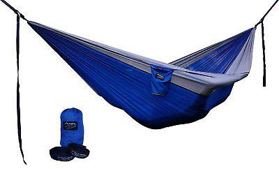 Large Parachute Hammock Tree Safe Straps Camping Backpacking