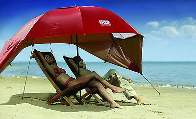 Beach Umbrella Tent Wind Shelter Sports Canopy Cabana Travel Sun Shade Summer  for sale  USA