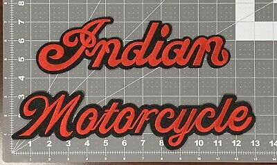 COMPLETE SET! VINTAGE STYLE INDIAN MOTORCYCLE PATCH SET!