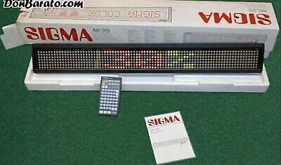 New Color Indoor Led Electric Programmable Moving Sign With Remote Control