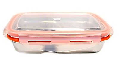 Stenlock Stainless Steel Lunch Box Rectangular Side Dish No. 2 Food Container