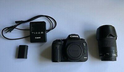 Canon EOS 7D Mark II 20.2MP Digital SLR Camera WITH Canon Lens 75-300mm F/4-5.6