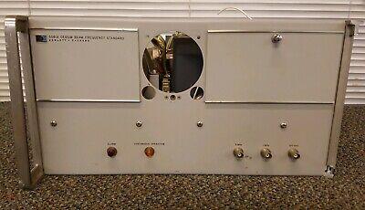 Hp - Agilent - Keysight 5061a Cesium Beam Frequency Standard Untested Option 01