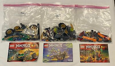 LEGO Ninjago Collection - 70755 70733 70753 - 100% complete with instructions!