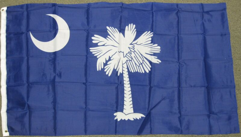 3X5 SOUTH CAROLINA STATE FLAG SC USA US NEW BANNER F270