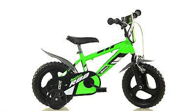 12 Zoll 412 U grün Kinderfahrrad Kinderrad Fahrrad Rad Bike Spielrad bike Dino