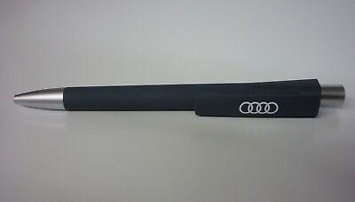 Audi Kugelschreiber grau/weiss