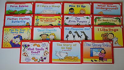 15 Book Level B Lot Easy Leveled Readers Homeschool Preschool Kindergarten Kids