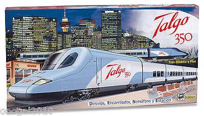 Tren Electrico Talgo 350 Super Circuito de 6,6 m Estacion y Personajes...