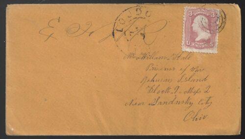 Civil War Cover to Confederate Prisoner at Johnson