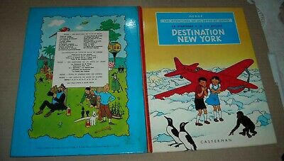 JO ZETTE ET JOCKO DESTINATION NEW YORK Herge (aut. Tintin Quick et Flupke)