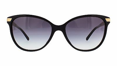 c54cee6171 NWT Burberry Sunglasses BE 4216F 3001 8G Black   Gray Gradient 57 mm 30018G  NIB
