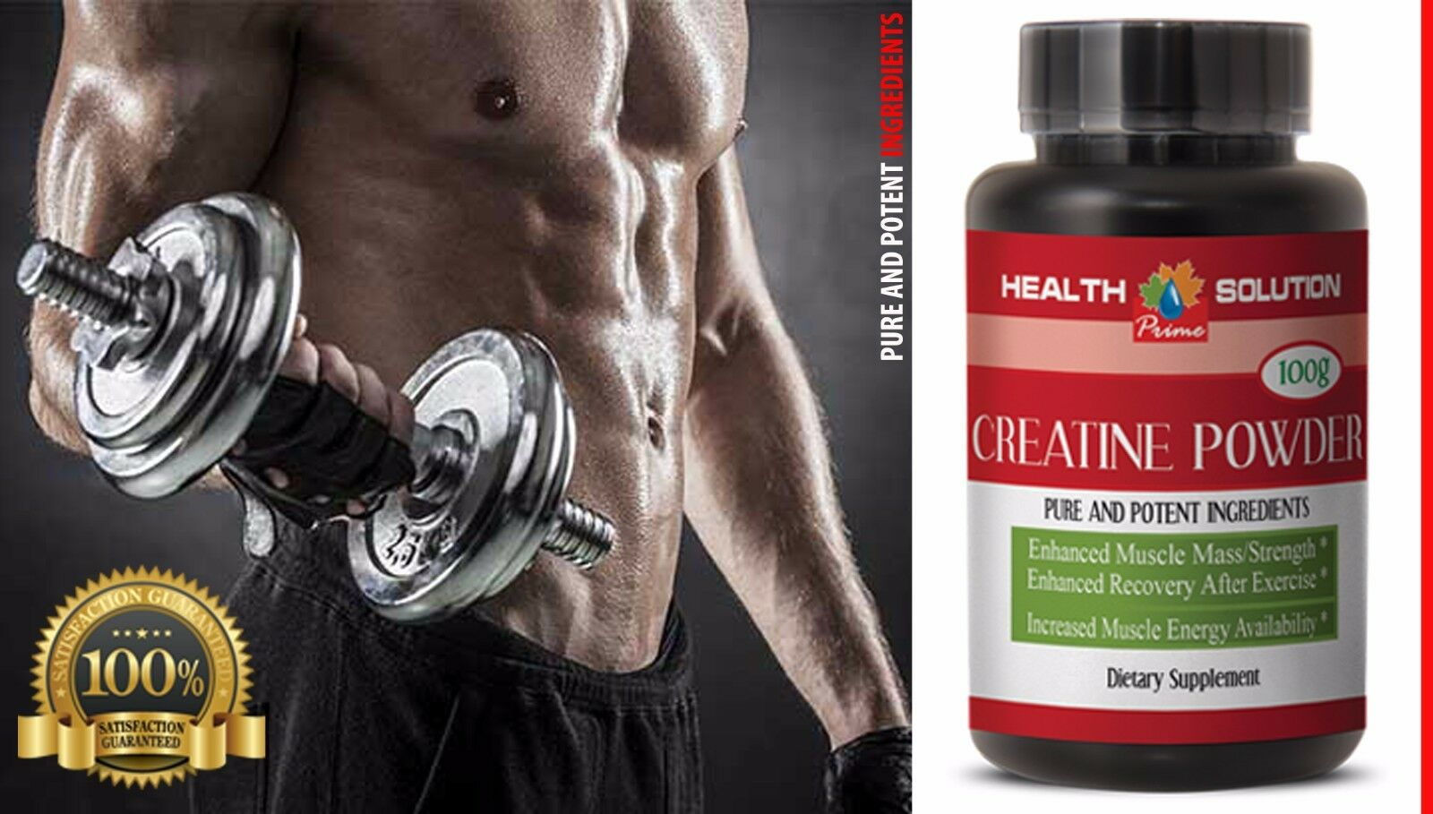 Nutritional Support - CREATINE POWDER -  supplements for ath