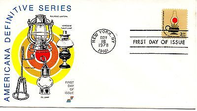 US FDC #1611 Lamp, Spectrum (2849)