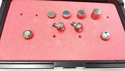 Rivet Squeezer Set 8 Pcs An470 Universal Head W Flush Squeezer Sets Case