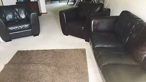 Leather Lounge Suite in great condition! Blackburn Whitehorse Area Preview