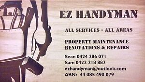 E-Z HANDYMAN Stirling Stirling Area Preview