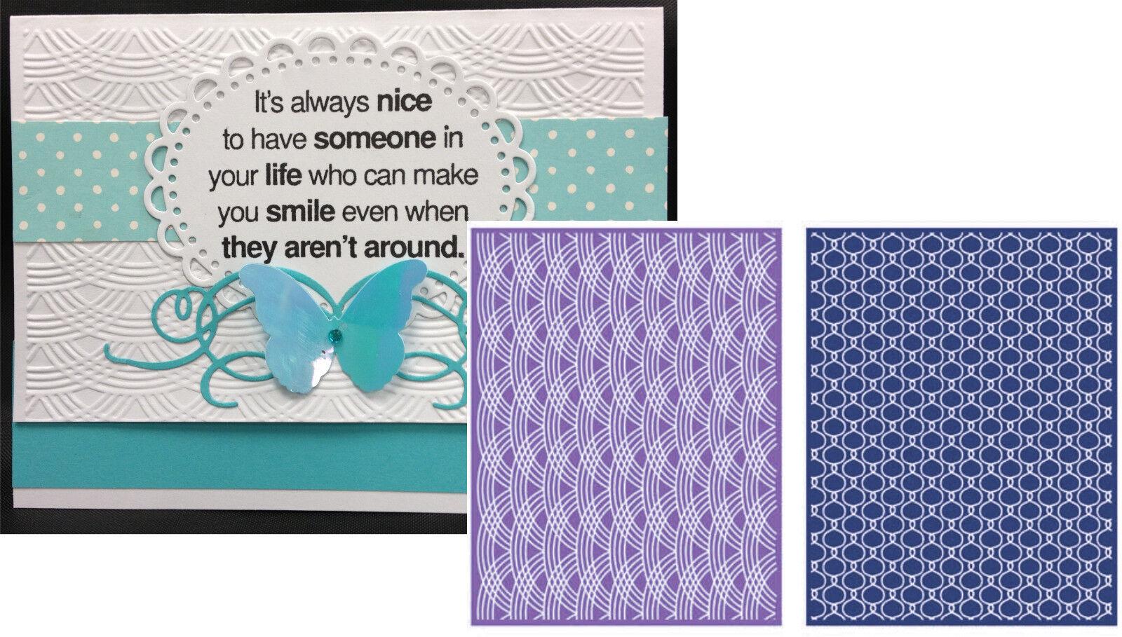 Lifestyle crafts embossing folders - Lattice Embossing Folders Ef0030 Lifestyle Crafts Embossing Folder