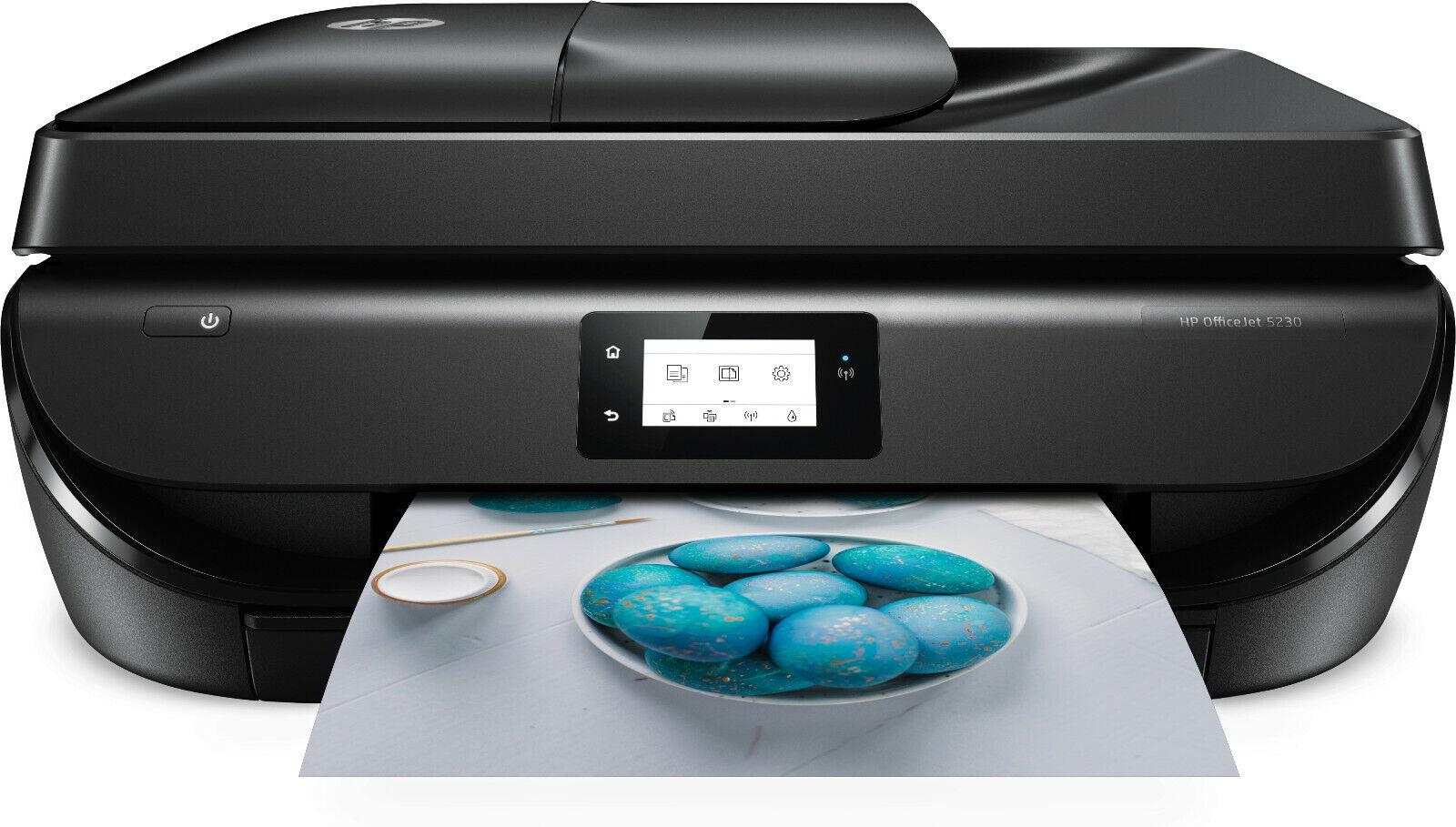 HP Officejet 5230 All-in-One-Multifunktionsgerät (Drucker/Kopierer/Scanner/Fax)