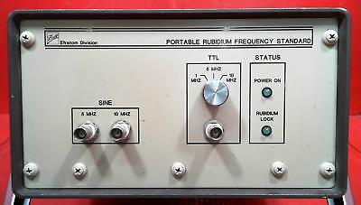 Ball Efratom Prfs-102 Portable Rubidium Frequency Standard