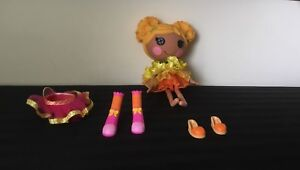 LARGE LALALOOPSY DOLL WITH EXTRA SKIRT & SHOES PLUS NEW DVD