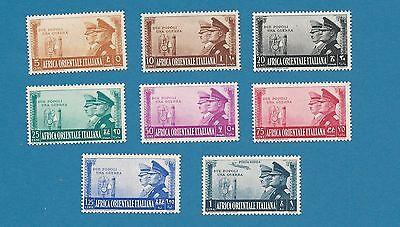 Africa Orientale 1941 Waffenbrüderschaft  kpl. ** !!