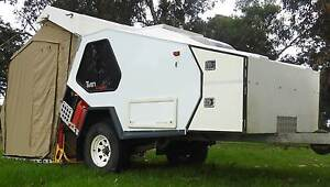 Tvan Canning, Offroad Camper, Track Trailer Frankston Frankston Area Preview