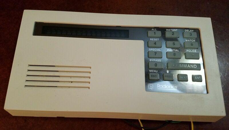Bosch Radionics D1255 Series Keypad Alarm Control Center
