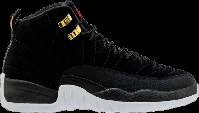 Air Jordan 12 black/white