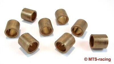 Gleitlager 2525 für 25mm Welle Stahl+Sinterbronze+POM wartungsarm Buchse Schlitz