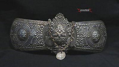 Antique Fine Huge Silver Belt Buckles - 19th century - Balkan Region