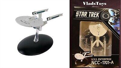 Eaglemoss Star Trek Best Of New Box USS Enterprise NCC-1701-A Captain Kirk