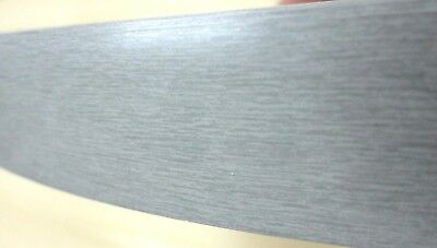 Brushed Aluminum Pvc Edgebanding 1516 X 120 With No Adhesive Simulated