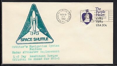 Space Shuttle STS-5 Readiness Test, KSC 09.11.82