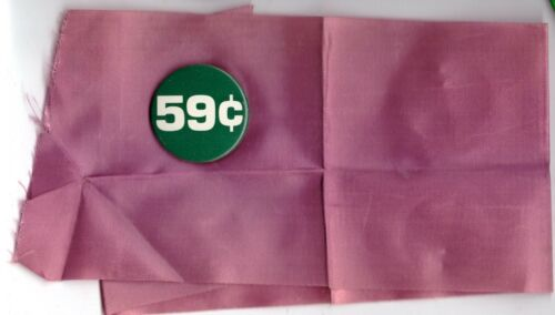WOMENS MARCH FOR LIVES 1986 PURPLE ARMBAND & EQUAL PAY PIN ORIGINAL