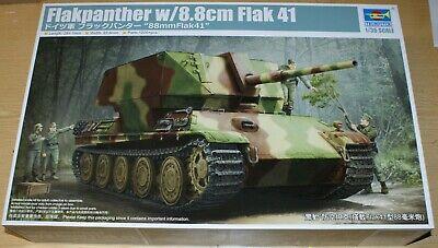 Panzer Pz.V Panther Flakpanther mit 8,8cm Flak 41 von Trumpeter in 1/35