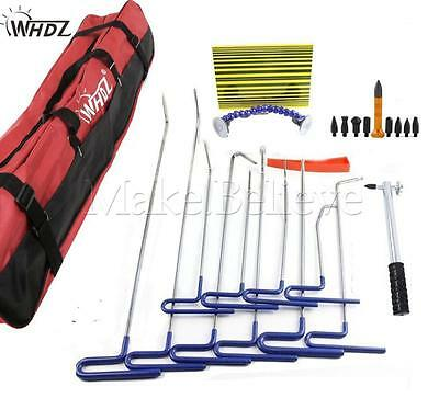 Ding Dent Repair Push Rods Professional Paintless Hail Removal Big Kit(B)
