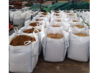 SHARP SAND -1 TON BULK BAG (collection or delivery) ideal for building patio driveway gardens slabs