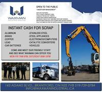 GET PAID CASH TODAY FOR YOUR SCRAP