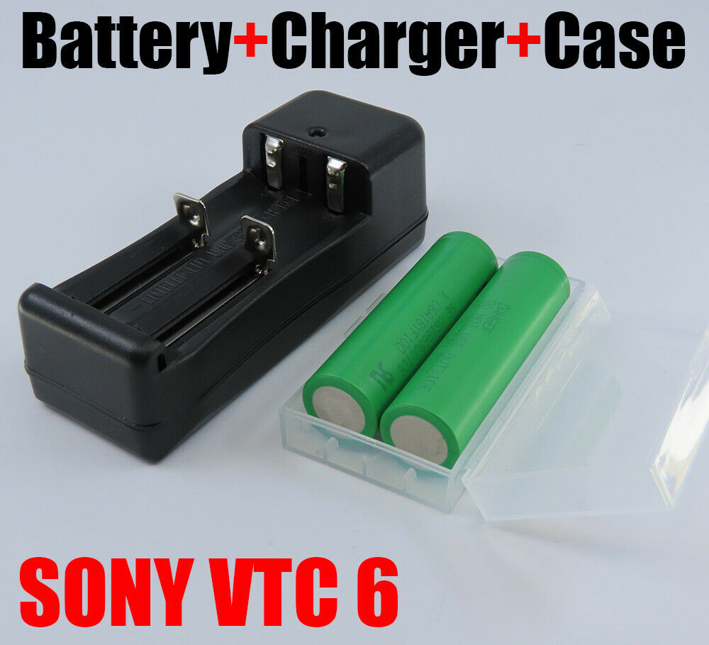 LOT SONY 18650 VTC6 3000MAH 30A 3.7V BATTERY US18650VTC6 w/