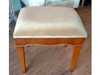 Vintage / retro reproduction Bradley yew dressing table