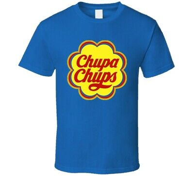 Chupa Chups Lollipop Sucker Candy Wrapper Logo Halloween Costume T Shirt](Candy Wrapper Halloween Costumes)