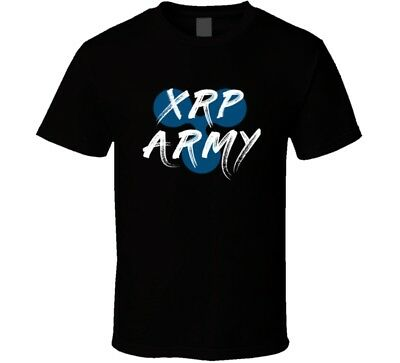 Xrp Army T Shirt   Ripple Crypto Inspired Fan Wear