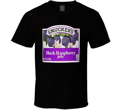 Smuckers Black Raspberry Jelly Cool Halloween Costume T Shirt