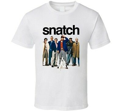 (Snatch Guy Ritchie British Gangster Movie Funny Fan T Shirt)