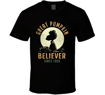 Snoopy T-shirt Aviator Tee Pumkin - Cartoon Pumkins