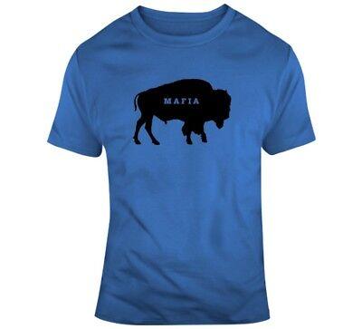 Buffalo Bills Football Fans Cool Mafia T-shirt ()