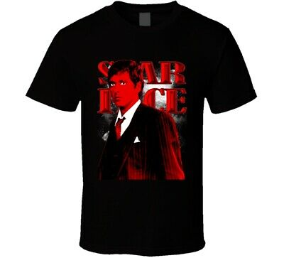 Scarface Tony Montana Al Pacino Gangster Movie 80s Classic Fan T Shirt