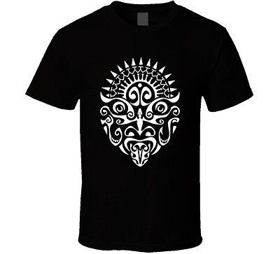 Fan Face Tattoo (Maori Warrior Tattoo Face New Zealand Haka Cool Fan T)